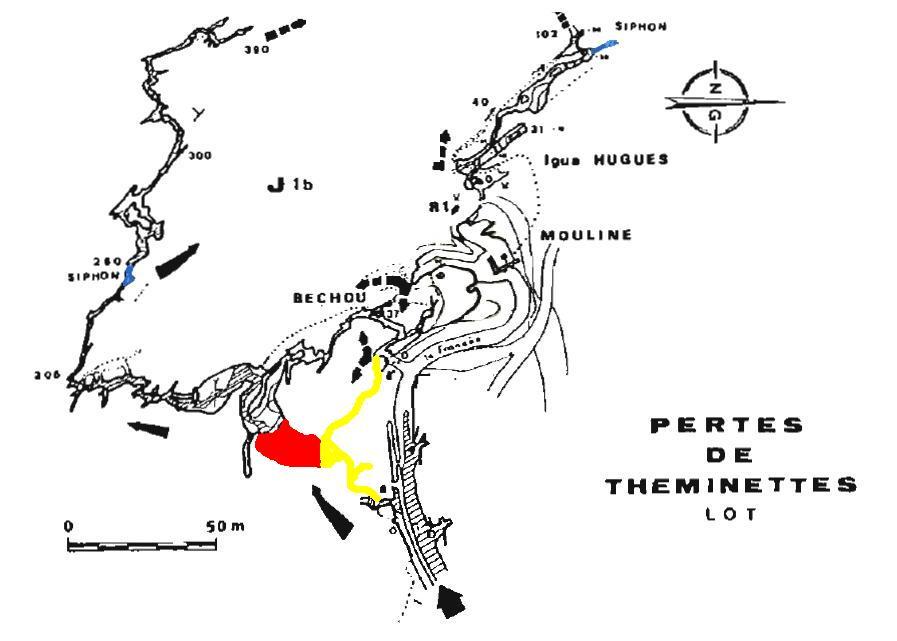 Perte de Francès (Théminettes - 46) : N 44°42,666  E 01°51,149